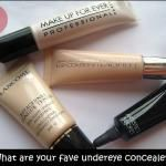 Should I use Peach or Yellow Concealer for undereye?