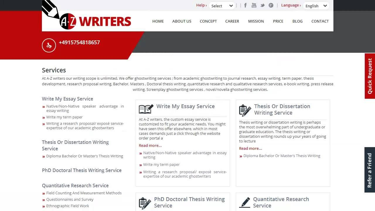 cheap thesis proposal ghostwriting website for masters