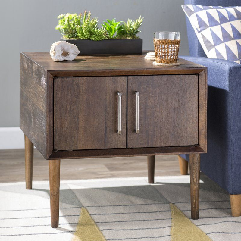 Napoleon End Table With Storage End Tables With Storage End Tables Storage Furniture Living Room