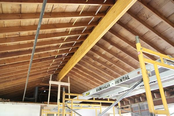 Vaulted Ceiling Installation From House Tweaking Blog