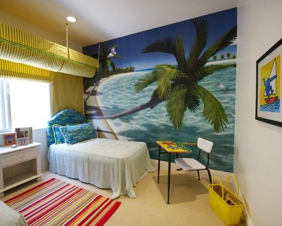 Kids Tropical Kids Rooms Design Pictures Remodel Decor And