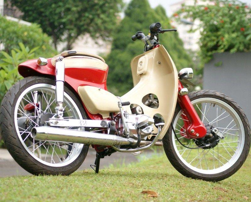 Gambar Modifikasi Honda Astrea Grand 7 Street Cup Honda Honda