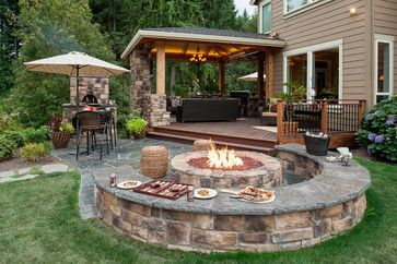 Round Patio Patio Design Ideas Pictures Remodel And Decor