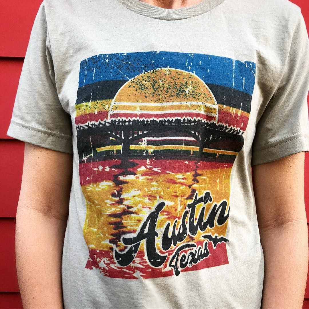 8958ce047d99 Austin Bats T-shirt by Gusto Graphic Tees. Viewing the bats in Austin,  Texas is one of the best Austin attractions. Hang out by the South Congress  Bridge to ...