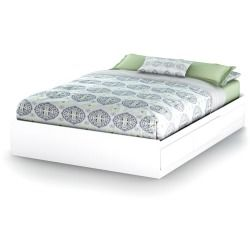 Buy Cheap  Vito Queen Storage Bed, White