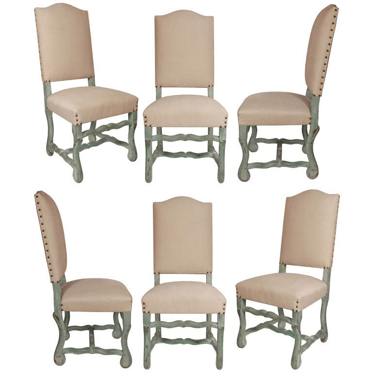 Captivating View This Item And Discover Similar Dining Room Chairs For Sale At   Set Of  Six French Century Dining Chairs In The Louis XIV Style, Old Original  French ...