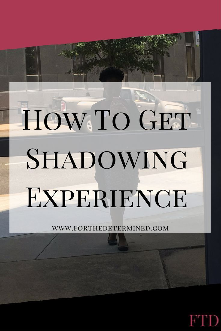 How to get shadowing experience nursing programs best