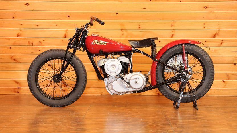 1948 Indian Scout Big Base Racer T200 Monterey 2014