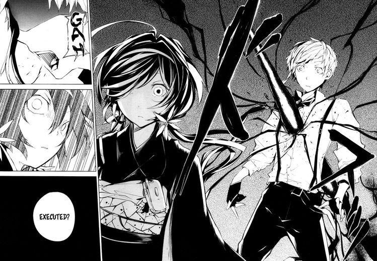 bsd manga, kyouka & atsushi Bungou stray dogs, Anime, Manga