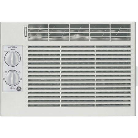 General Electric Aet05ls 5 050 Btu Window Air Conditioner White Compact Air Conditioner Window Air Conditioner Mechanical Room