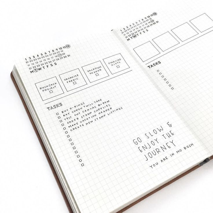 bullet journal daily layout prioritized task list unique date