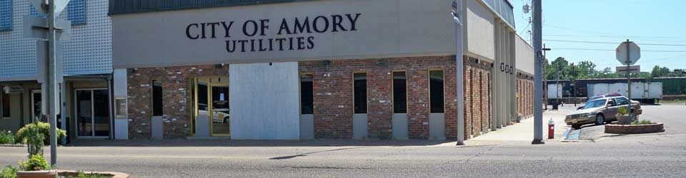City of Amory Utilities - Amory, MS | Amory, Mississippi