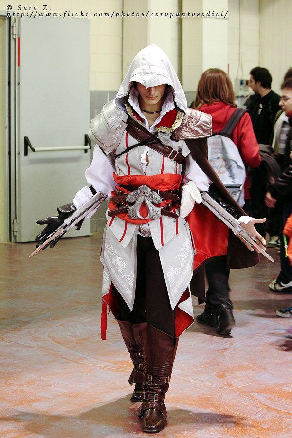 Awesome Cosplay De Ezio De Assassin S Creed Brotherhood