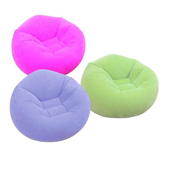 Lounge Stoel Opblaasbaar.Beanless Bag Chair Assortment Ages 6 3 Colors Klasinrichting
