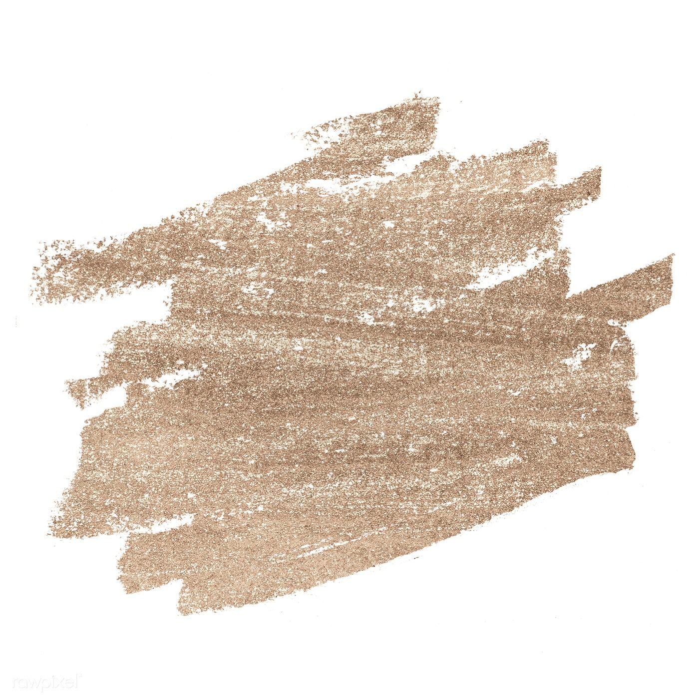 Download Premium Psd Of Festive Shimmery Brown Brush Stroke 552833 Brush Strokes Floral Poster Framed Wallpaper