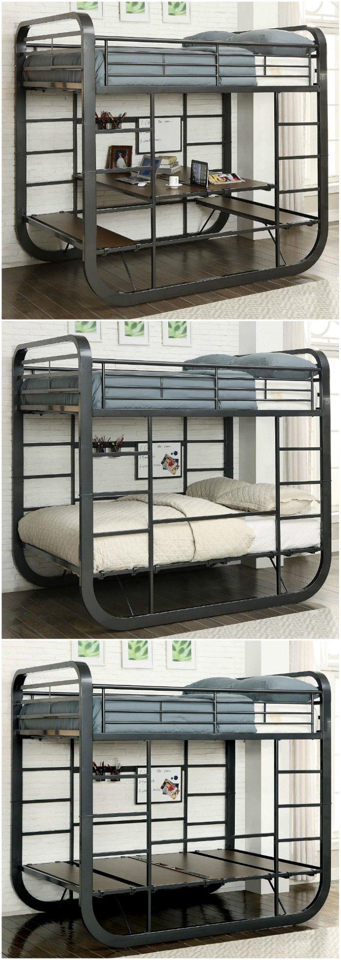 Ten Great Bunk And Loft Beds For Kids Living In A Shoebox Kid Beds Metal Bunk Beds Kids Bunk Beds