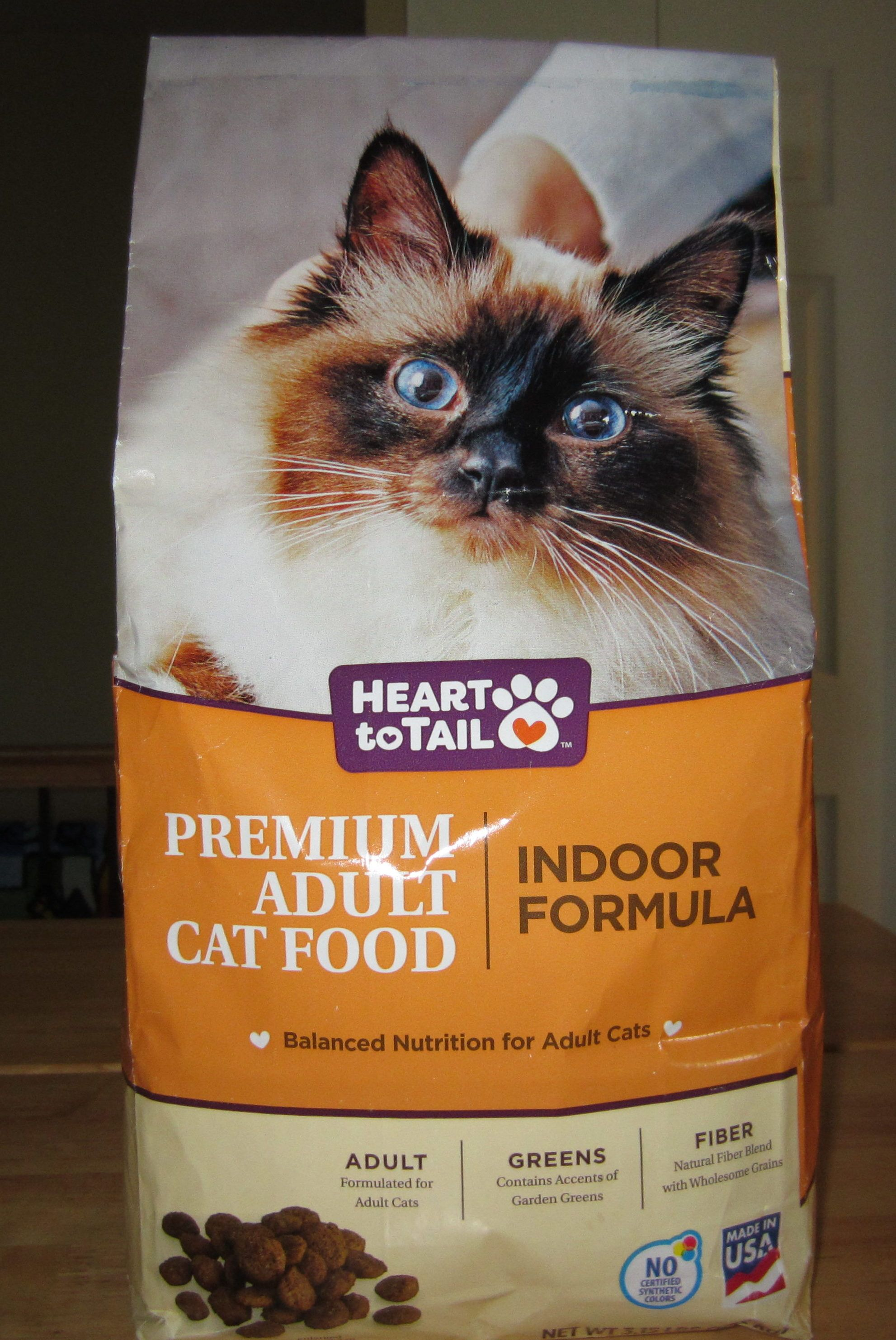 Heart To Tail Premium Adult Cat Food Indoor Formula Cat Food