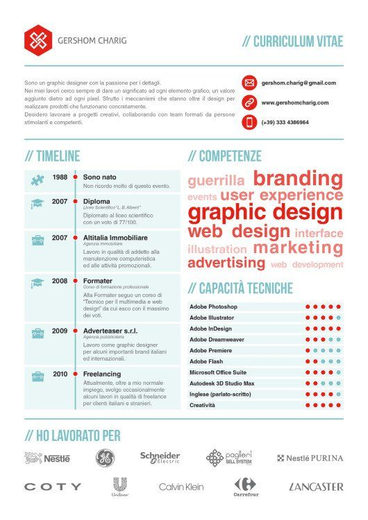 Product Designer Resume 50 Inspiring Resume Designs And What You Can Learn From Them .