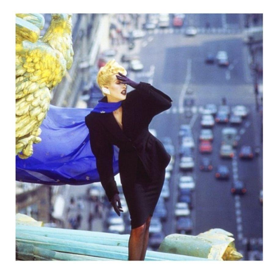 80s fashion New York USA