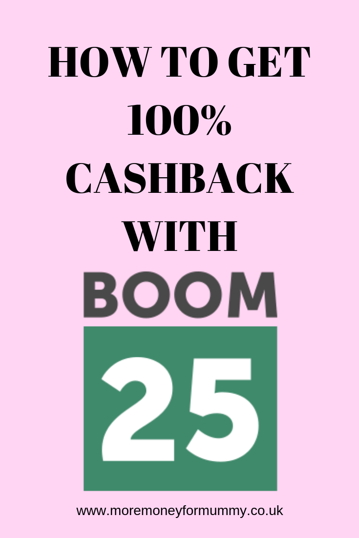 How To Get 100 Cashback With Boom25 And Get Your Shopping For