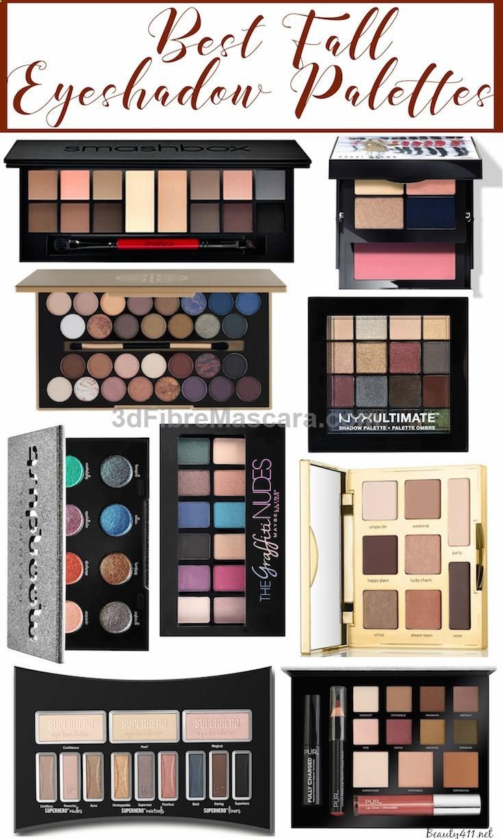 Best Fall Eyeshadow Palettes! (con imágenes) Maquillaje