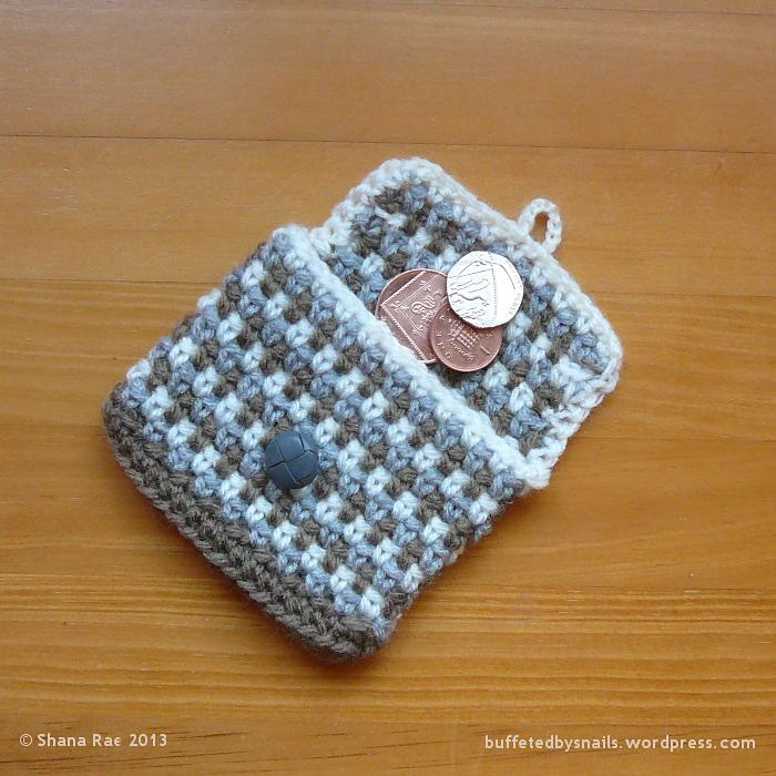 Rustic Coin Purse By Shana Rae - Free Crochet Pattern ...