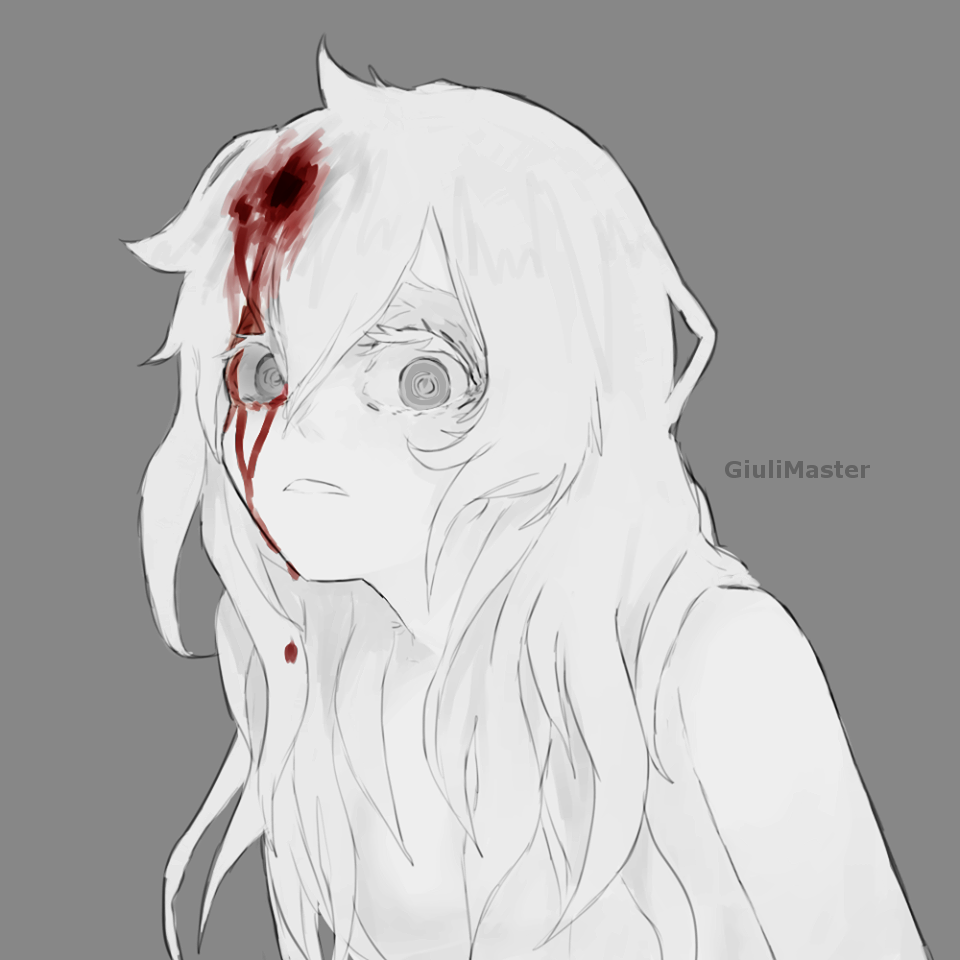Bloody abused anime kagerou project