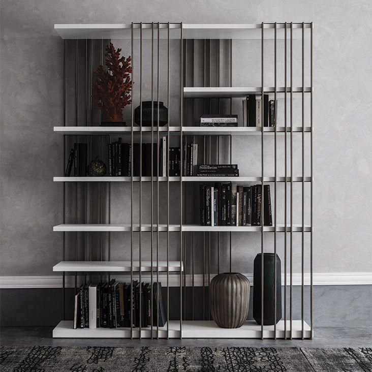 Arsenal Bookcases Modular Bookcase With Frame In