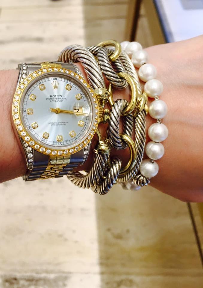 david yurman oval extralarge link bracelet with gold