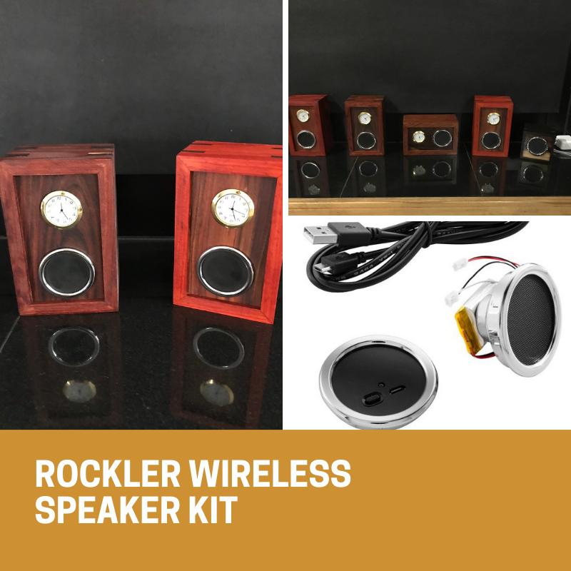 Rockler Wireless Speaker Kit with Playback/Volume Controls ...