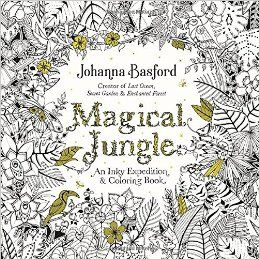 Amazon Magical Jungle An Inky Expedition And Coloring Book For Adults Johanna Basford