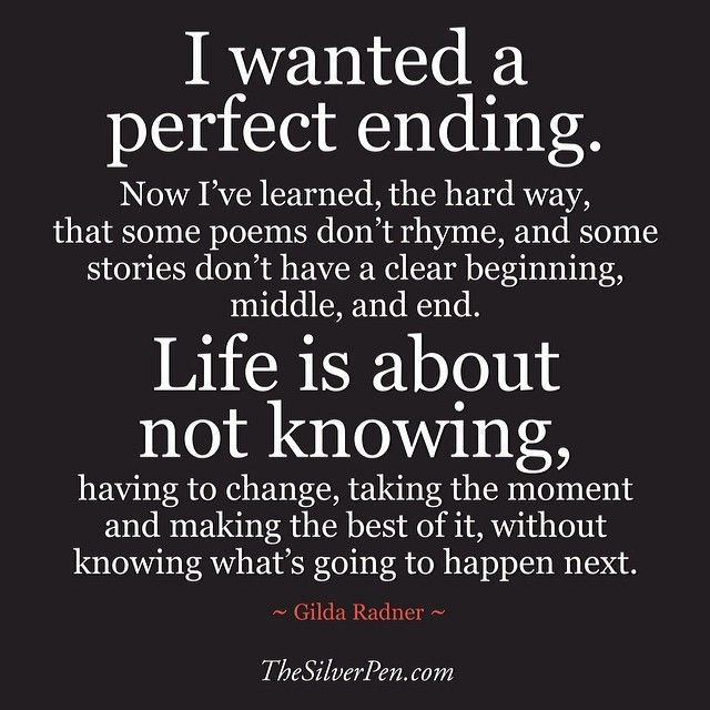Ending Of Life Quotes