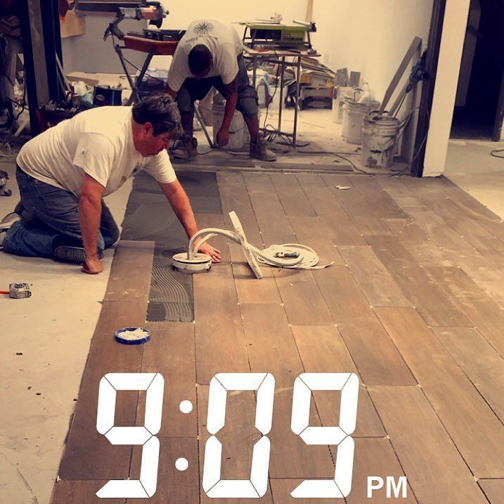 We Will Accommodate To Your Schedule Labor Tile Contractors