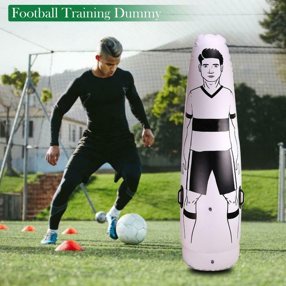 Advertisement Ebay Inflatable Football Training Goal Keeper Tumbler Air Soccer Train Dummy 1 75m Football Training Soccer Training Goalkeeper
