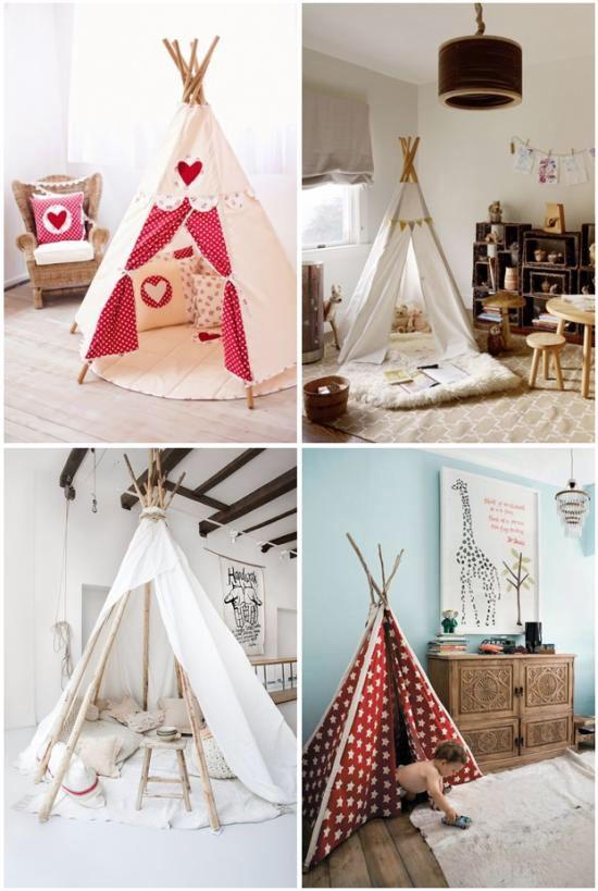 wigwams enfants kinder zimmer kinderzimmer et wohnen. Black Bedroom Furniture Sets. Home Design Ideas