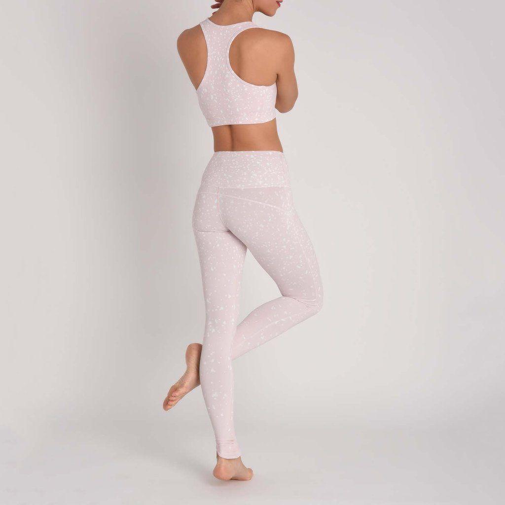 Legging Blanc Transparent 7