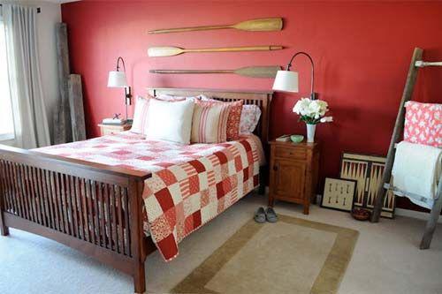 Schlafzimmer Rot 50 Schlafzimmer Inspirationen In Rot Wanddekor Schlafzimmer Schlafzimmer Einrichten Einrichtungsideen Schlafzimmer