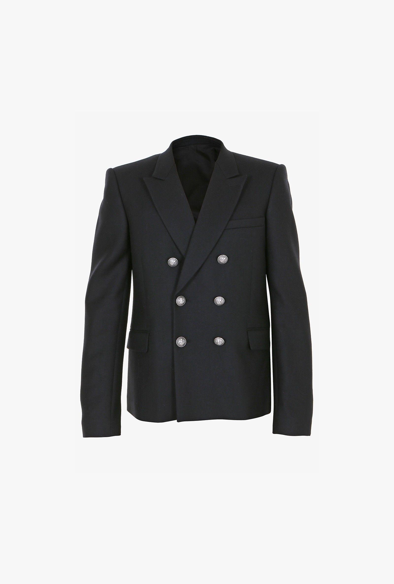 Balmain - Slim-fit cashmere blazer - Men's blazers | antigone ...