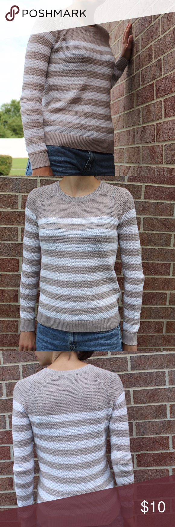 Old Navy Women's Striped Sweater Add this cozy sweater to your ...