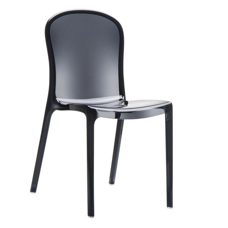 Chaise design en polycarbonate Victoria 4 Pieds : tables