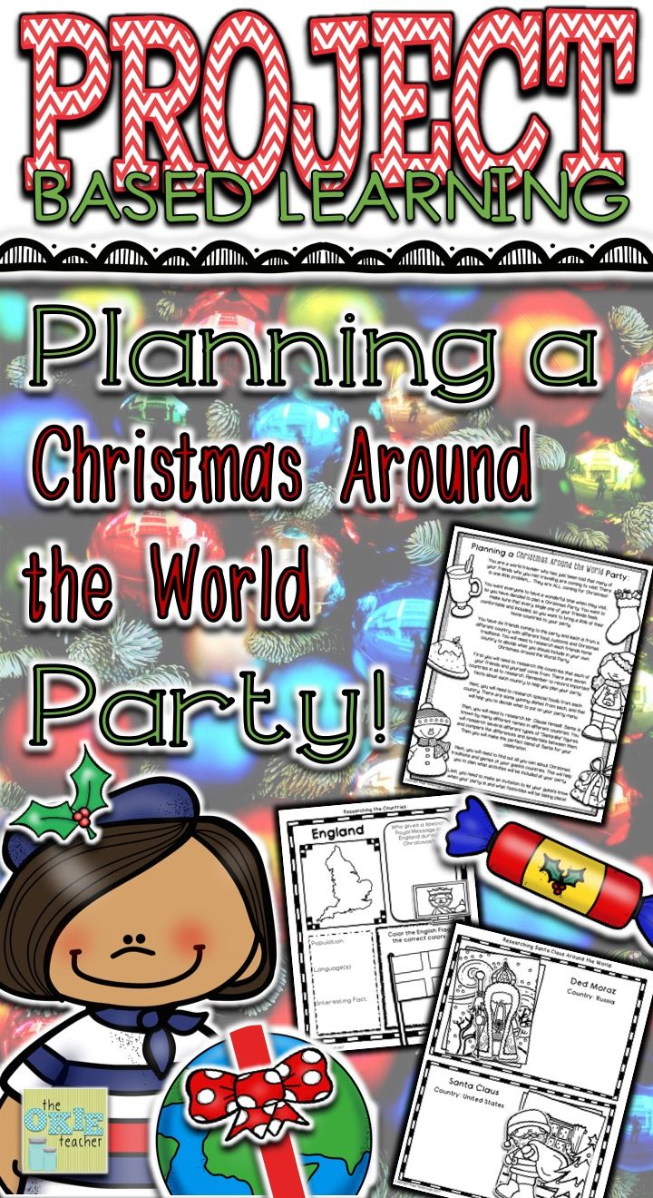 Take Your Students On A Christmas Trip Around The World To Learn About Their Customs Traditionore Let Do Party Planning In This