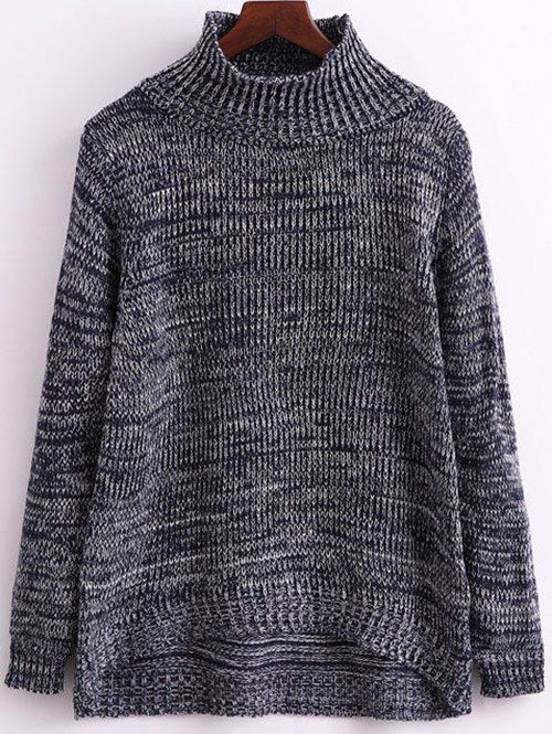 SHARE & Get it FREE | Funnel Neck Heathered JumperFor Fashion Lovers only:80,000+ Items • New Arrivals Daily • Affordable Casual to Chic for Every Occasion Join Sammydress: Get YOUR $50 NOW!