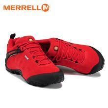 timeless design 99463 059f6 Original Merrell Mujeres Deporte Al Aire Libre Rojo Zapatillas de Escalada  de Montaña Senderismo Zapatos Para