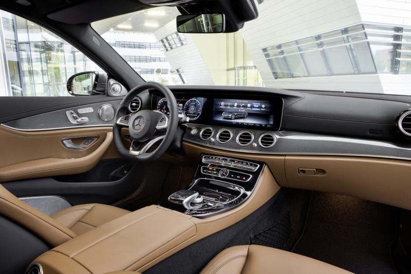 Essai - Mercedes-Benz E 300 4Matic 2017: semi-autonome seulement… heureusement - V - Auto