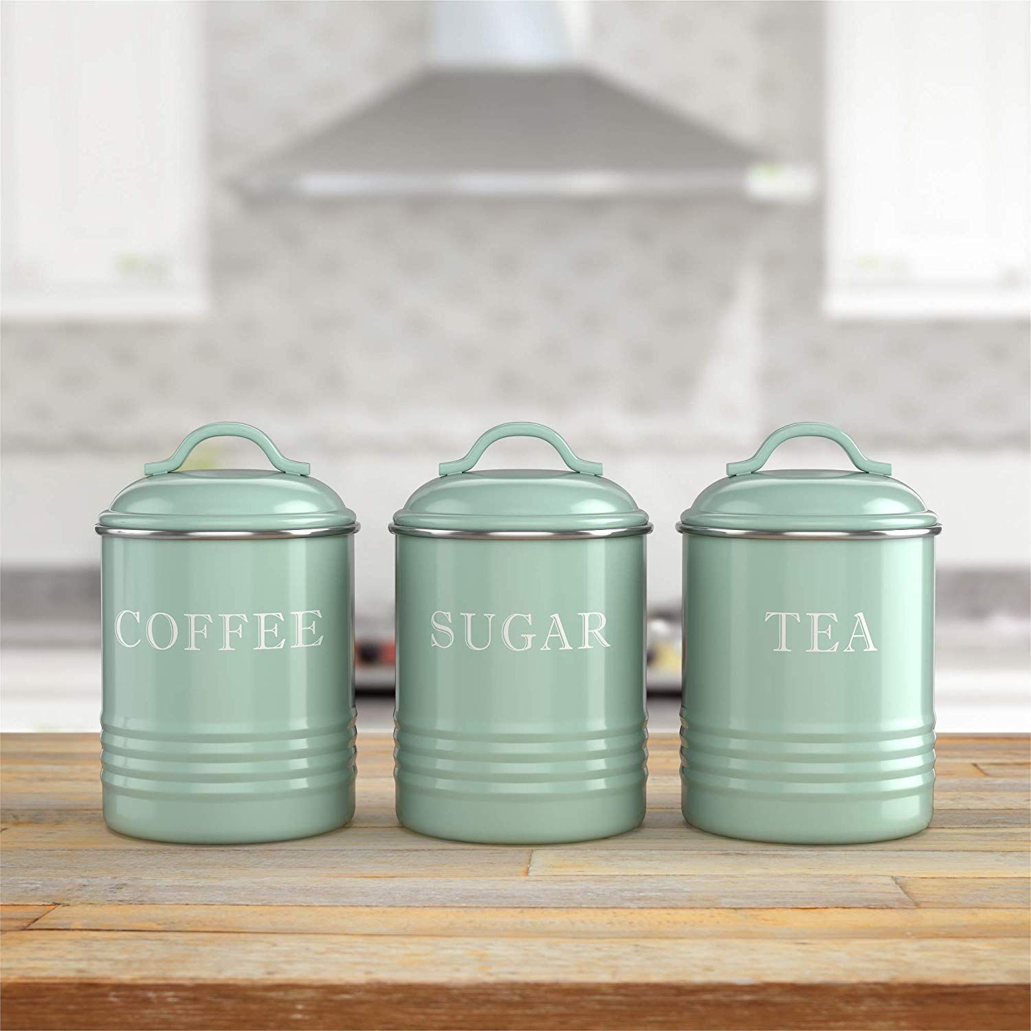 Airtight Kitchen Canisters Tea Storage Decorative Kitchen Canisters Coffee And Tea Storage