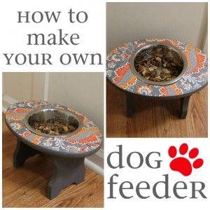 DIY - dog feeder