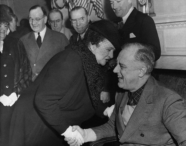 The first woman presidential cabinet member, FRANCES PERKINS, is ...