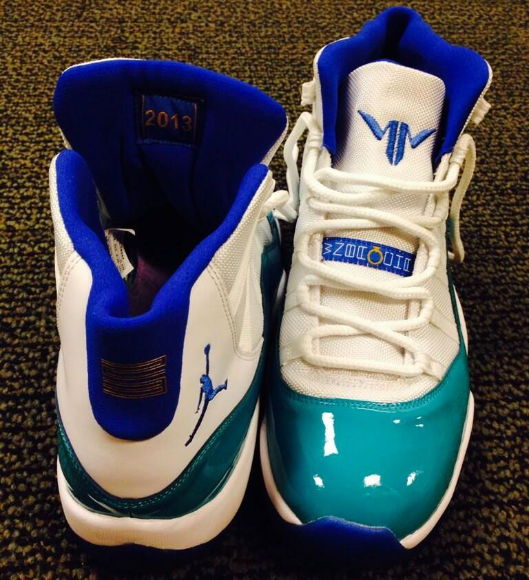 Maya Moore's Air Jordan 11 PE