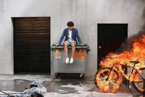 Jungkook ❤ FIRE MV (in the making) #BTS #방탄소년단