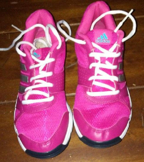 8f6516231 Adidas PGS789005 Size 8 Walking Running Pink Sneakers Shoes  adidas   WalkingShoes